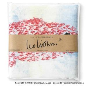 レオ・レオニ 蚊帳生地 ふきん 約30cm スイミー 日本製 278605