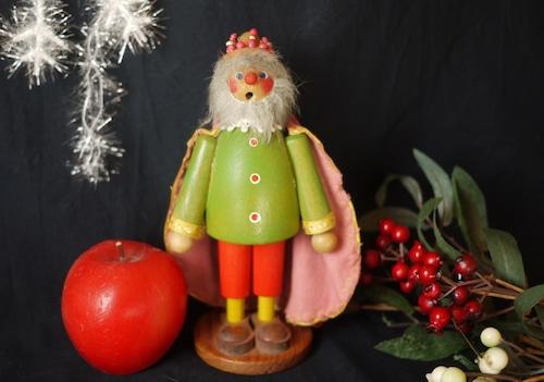 赤いマントの王様 スモーカー 煙出し人形 パイプ人形