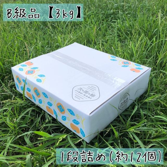 [予約受付中 11月発送] 次郎柿 B級品 【3kg】