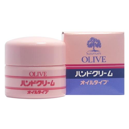鈴虫オリーブ化粧品 鈴虫オリーブハンドクリーム51g(オイルタイプ)