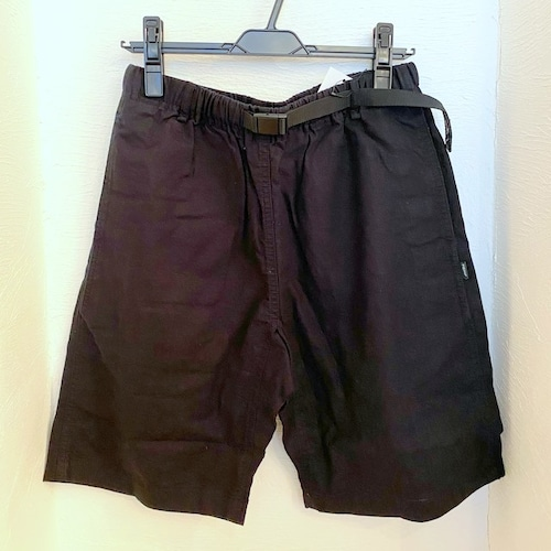 Cotton Hemp Shorts Black