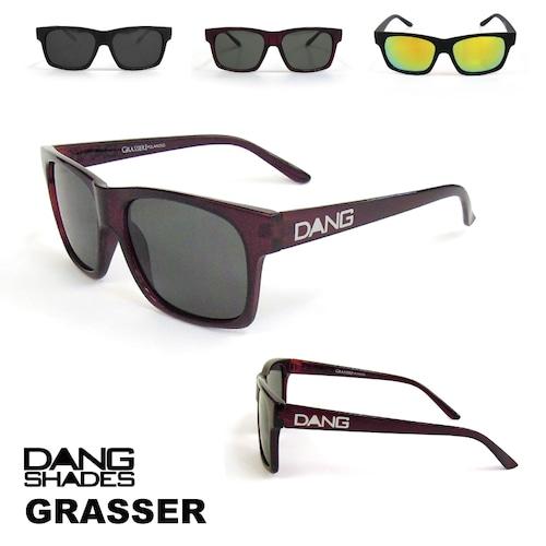 DANG SHADES (ダン・シェイディーズ) Grasser (グラッサー) サングラス ケース 付属 アウトドア ユニセックス メンズ レディース キャンプ ウィンター スポーツ スノボ スキー 紫外線 メガネ 眼鏡 グラス おしゃれ かっこいい カラー ライト 運転 ドライブ