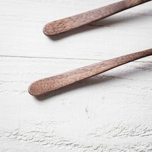 ウォールナット材 ディナースプーン(カレースプーン・木の匙・木製カトラリー)/Canaria Wood Works