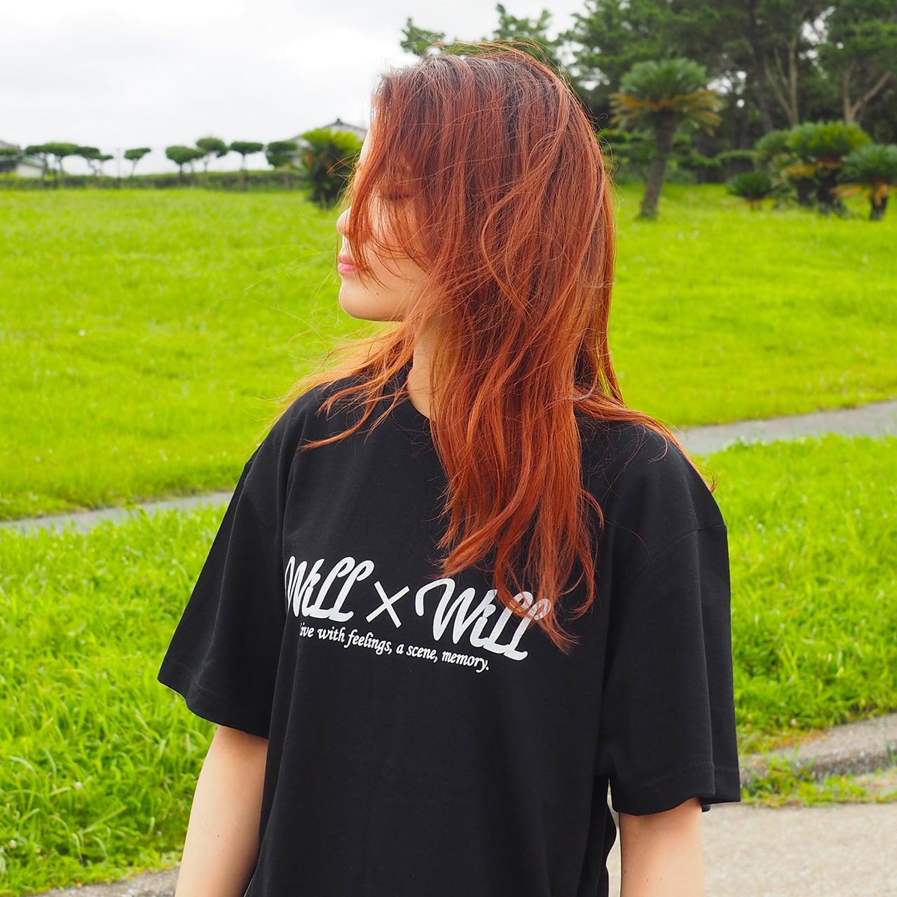 Will×Will Logo T-shirts BLACK