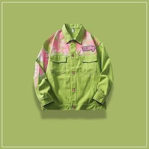 【アウター】目立つ明るいファッションホット男女兼用長袖ジャケット50575873