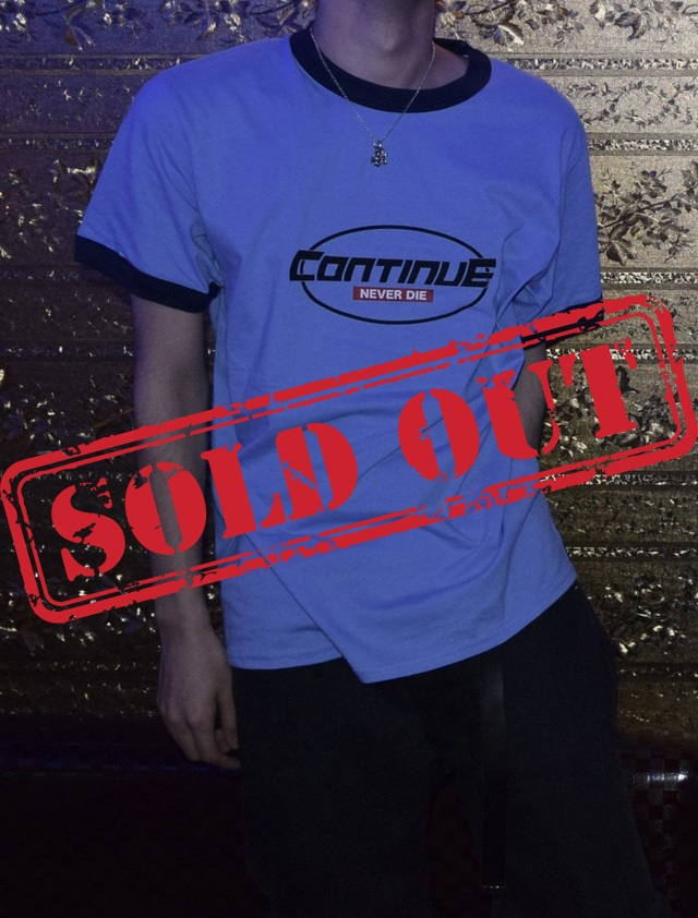 CONTINUE RINGER TEE
