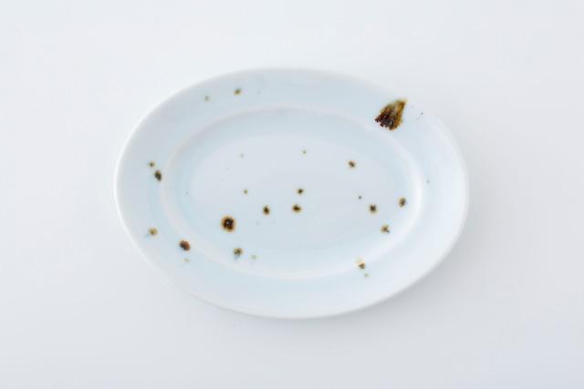 リム楕円皿:01 / 人見 和樹