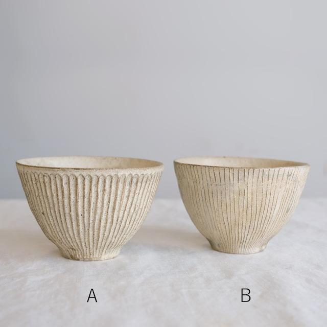 鈴木進 粉引き鉢 NO.34