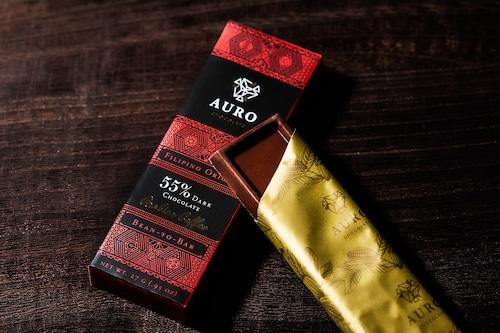 55%ダークチョコレートアラビカコーヒー入り(27g Bar)