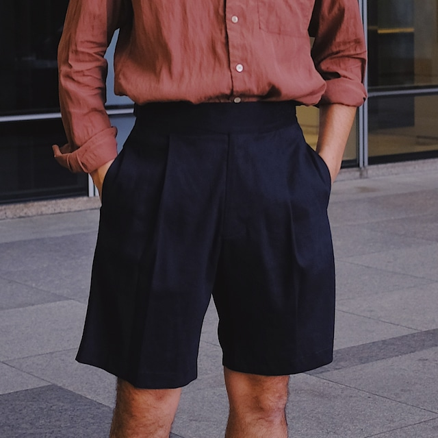 Number M x COLONY CLOTHING x Vandori / Gurkha Shorts Navy
