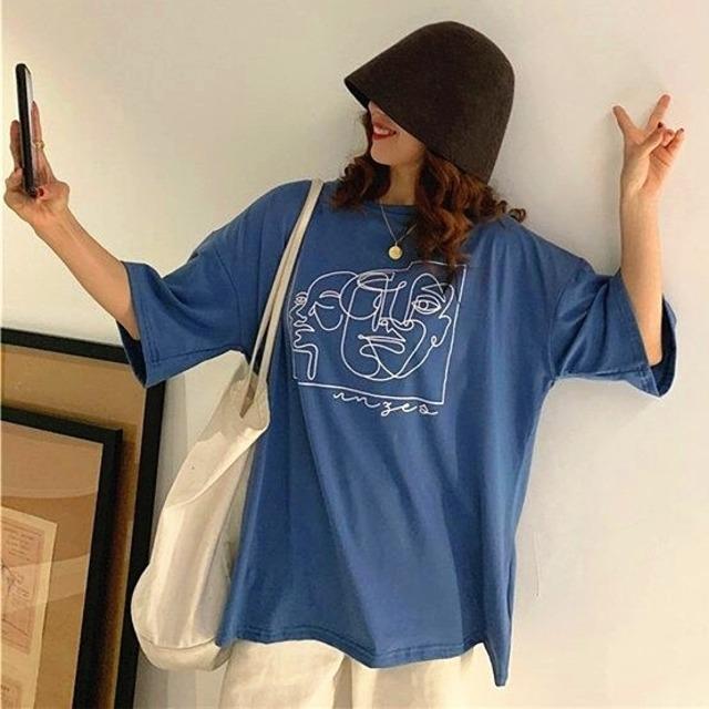 【トップス】アルファベットキュート半袖プリントTシャツ28991505