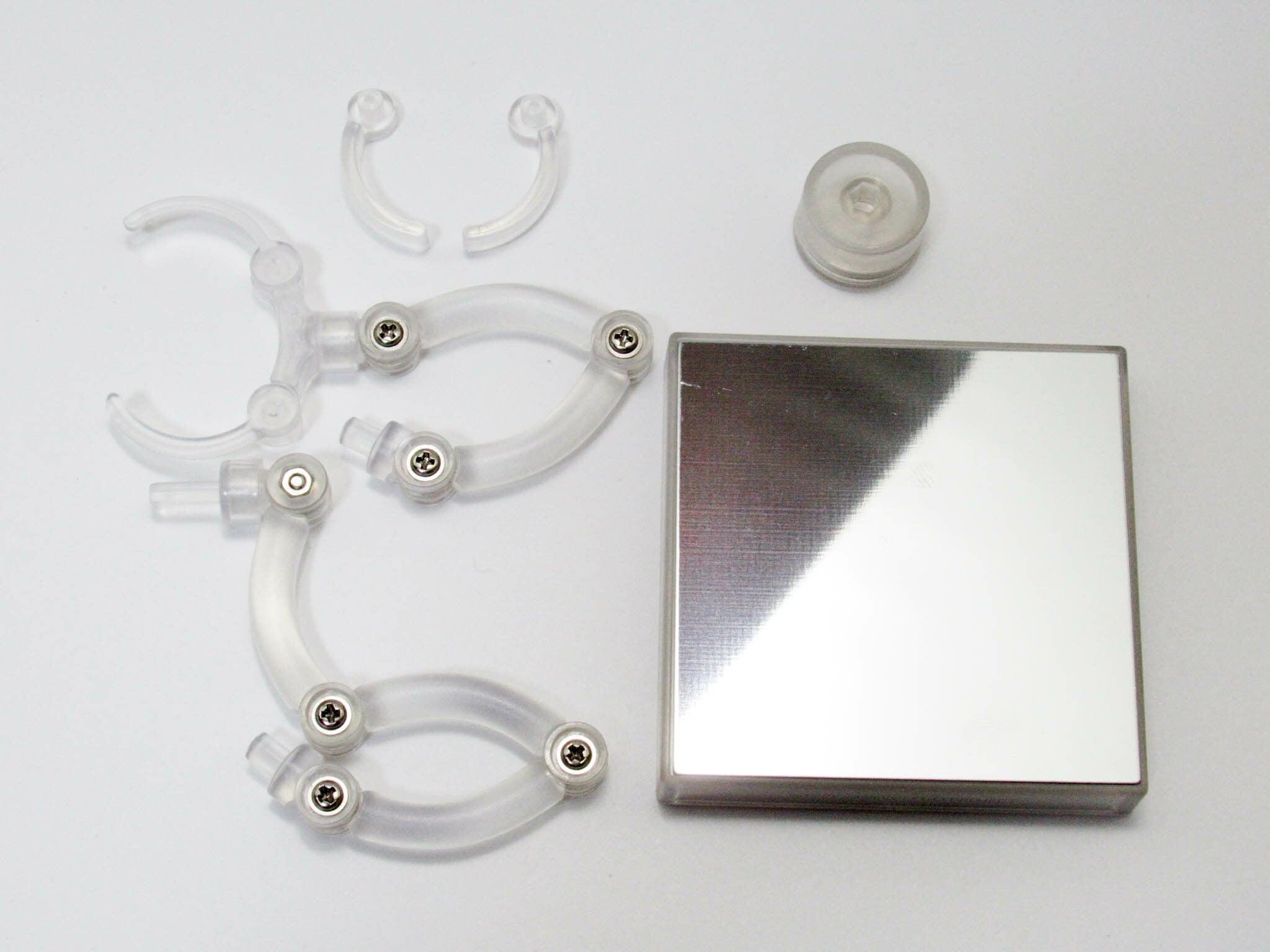 ねんどろいどどーる  台座 (共通)※金属部分の接着が機能しない場合があります。仕様です