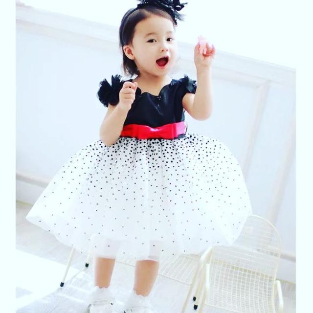 商品番号542 kids ドレス♡ ブラック×ホワイト