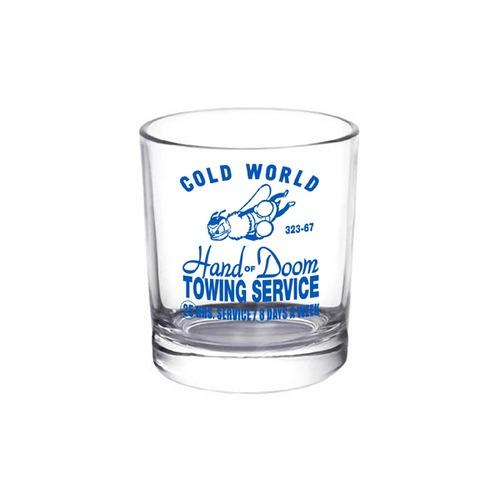 Cold World Frozen Goods|HAND OF DOOM 10.Z WHISKEY GLASS