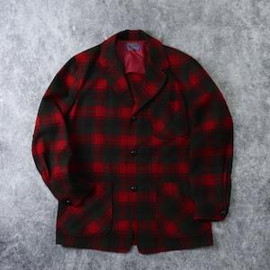 "60's "" Pendleton "" Wool Tailored jacket Christmas color !! 60年代 ペンドルトン ウール テーラードジャケット クリスマス A669"