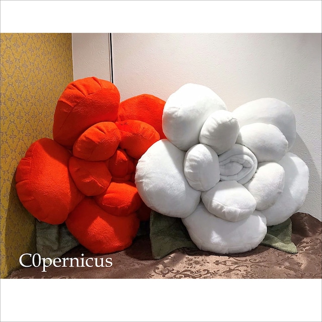 2color インテリアクッション バラ 浜松雑貨屋 C0pernicus
