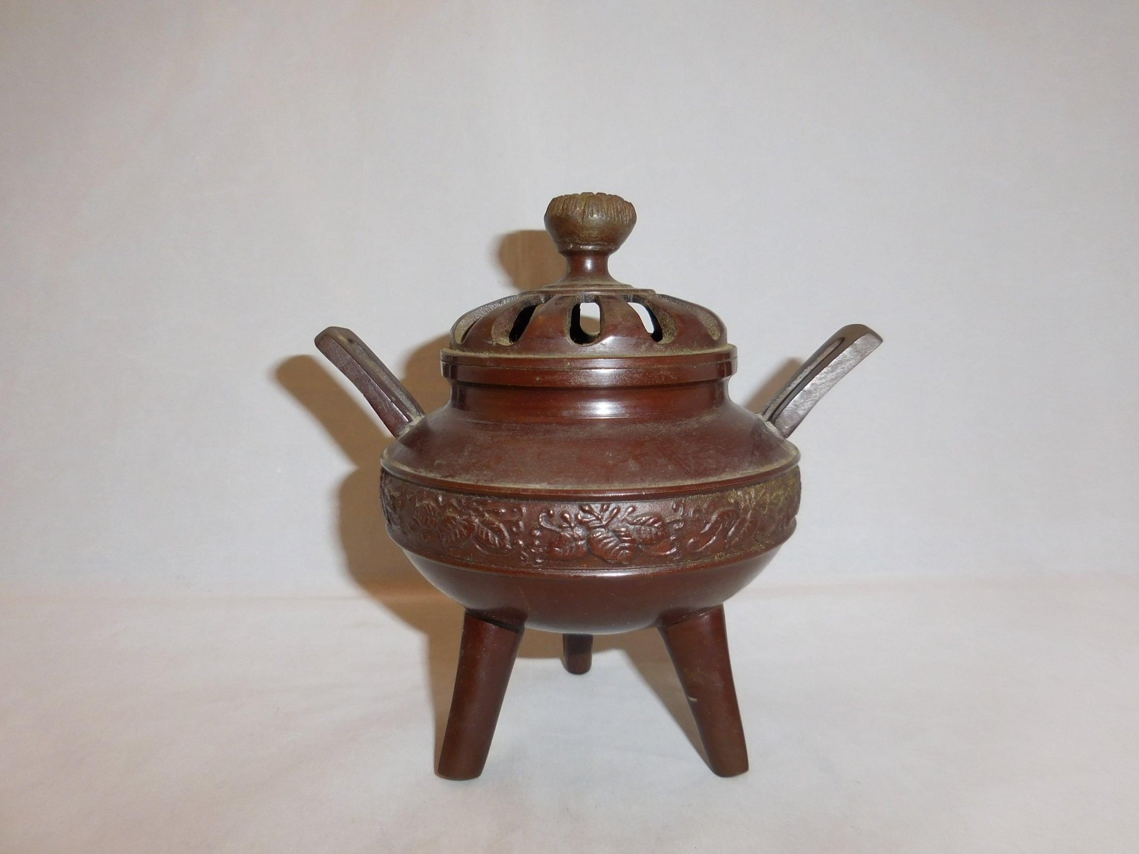 香炉 multi-metal incense burner