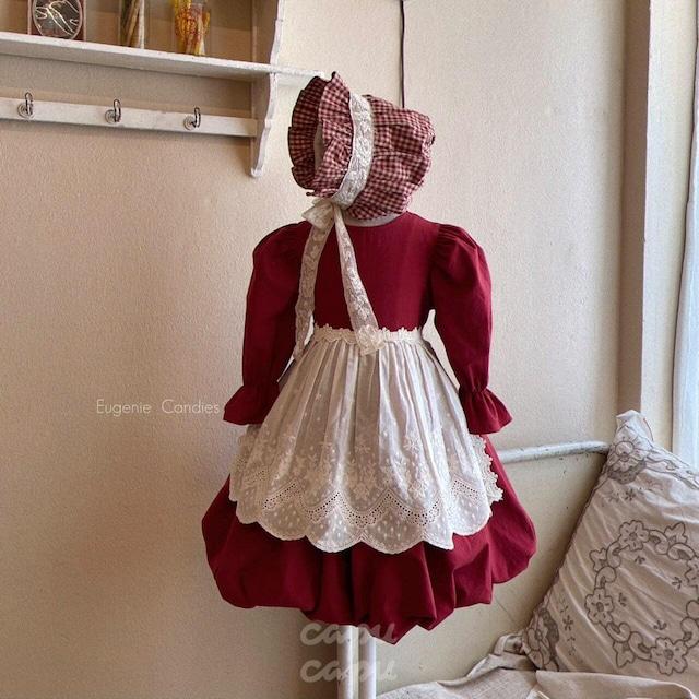 «先行予約割引» One Day for The Celebration Dress anna red アンナレッドバルーン ワンピース