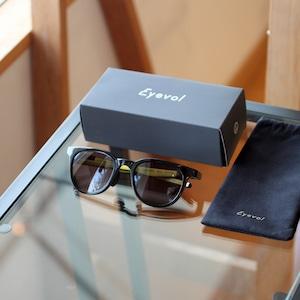 <Eyevol> CONLON II BK-LY-DK.GRY / 日本製サングラス