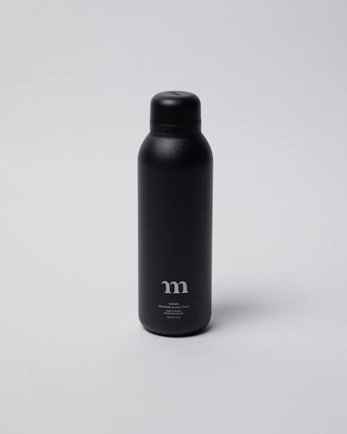 """muraco ムラコ """"m"""" STAINLESS BOTTLE(BLACK)"""