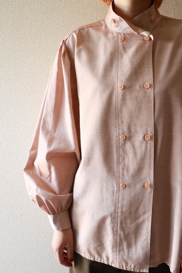 Vintage high neck design shirt