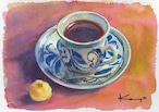 NO.136「砥部焼のコーヒーカップ」