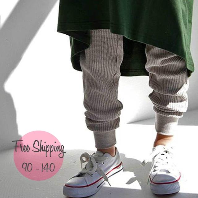 【90-140】韓国子供服❤人気商品★カジュアル パンツ  (545)