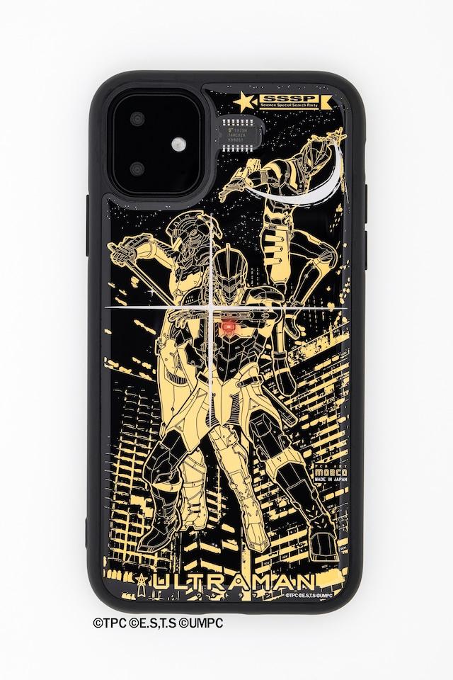 FLASH ウルトラマン 基板アート iPhone 11 ケース【東京回路線図A5クリアファイルをプレゼント】