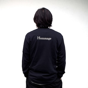 """one f """"Hommage"""" L/S tee"""