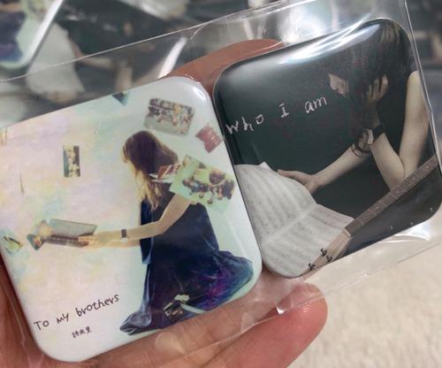 CDジャケット缶バッチ(2個セット)