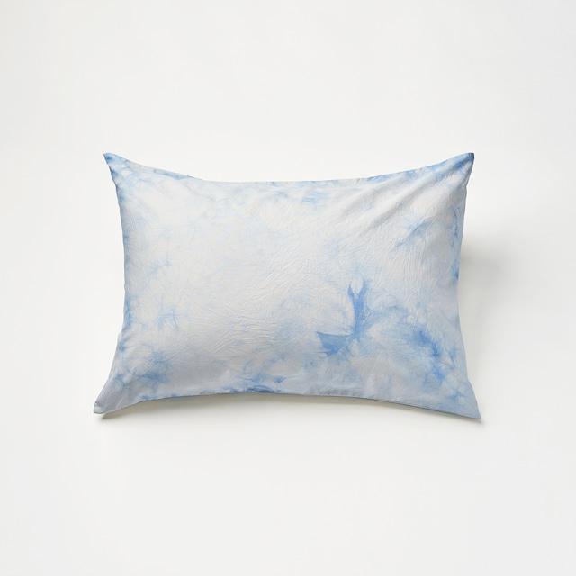 肌触りの良いピローケース(ライトブルー)封筒式 45×90cm