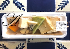Todays platter of cheese