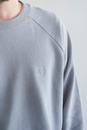 POET MEETS DUBWISE PMD+ Embroidery GROUNDED Loose Fit Raglan Sweat