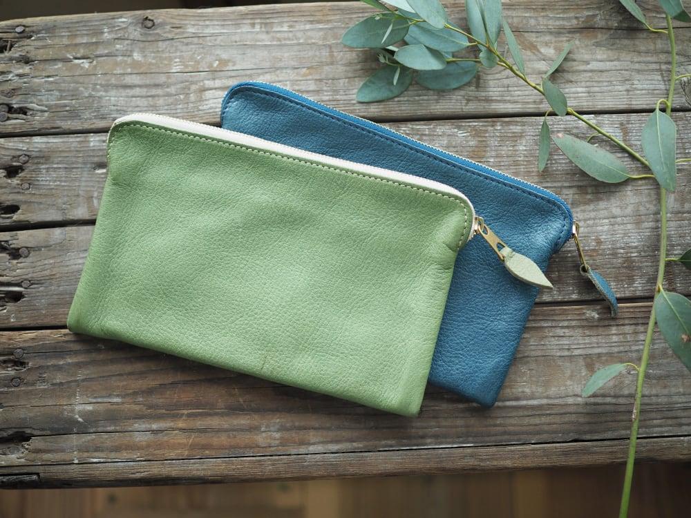 [現品販売]  passbook pouch (deer) / 通帳サイズポーチ