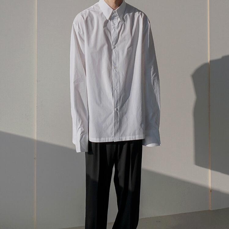 Slit design shirt   a-374