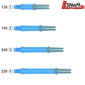 L-SHaft Lock Straight [Clear Blue]