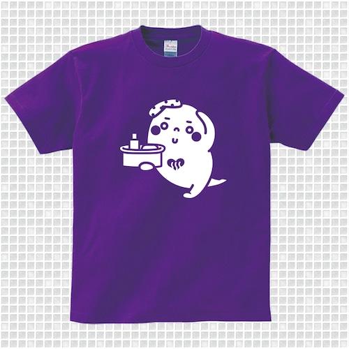 ゆっポくんTシャツ パープル