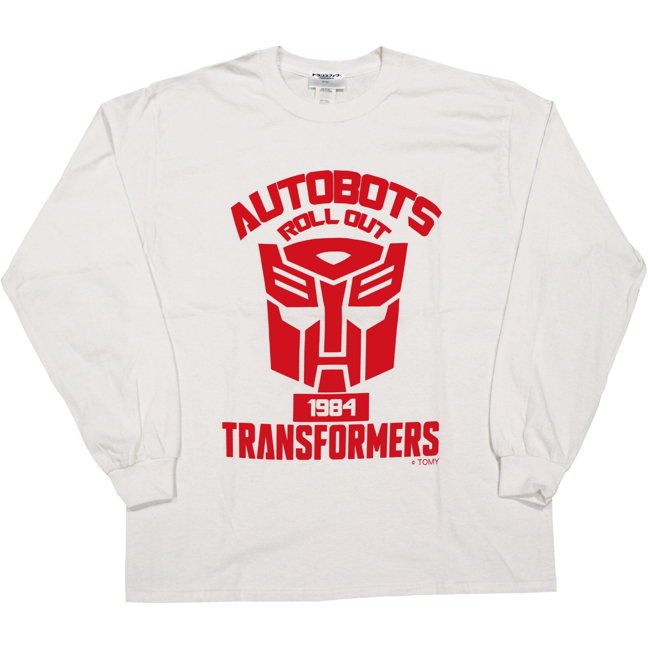 【トランスフォーマー】戦え!超ロボット生命体トランスフォーマー サイバトロンエンブレム ロングスリーブTシャツ