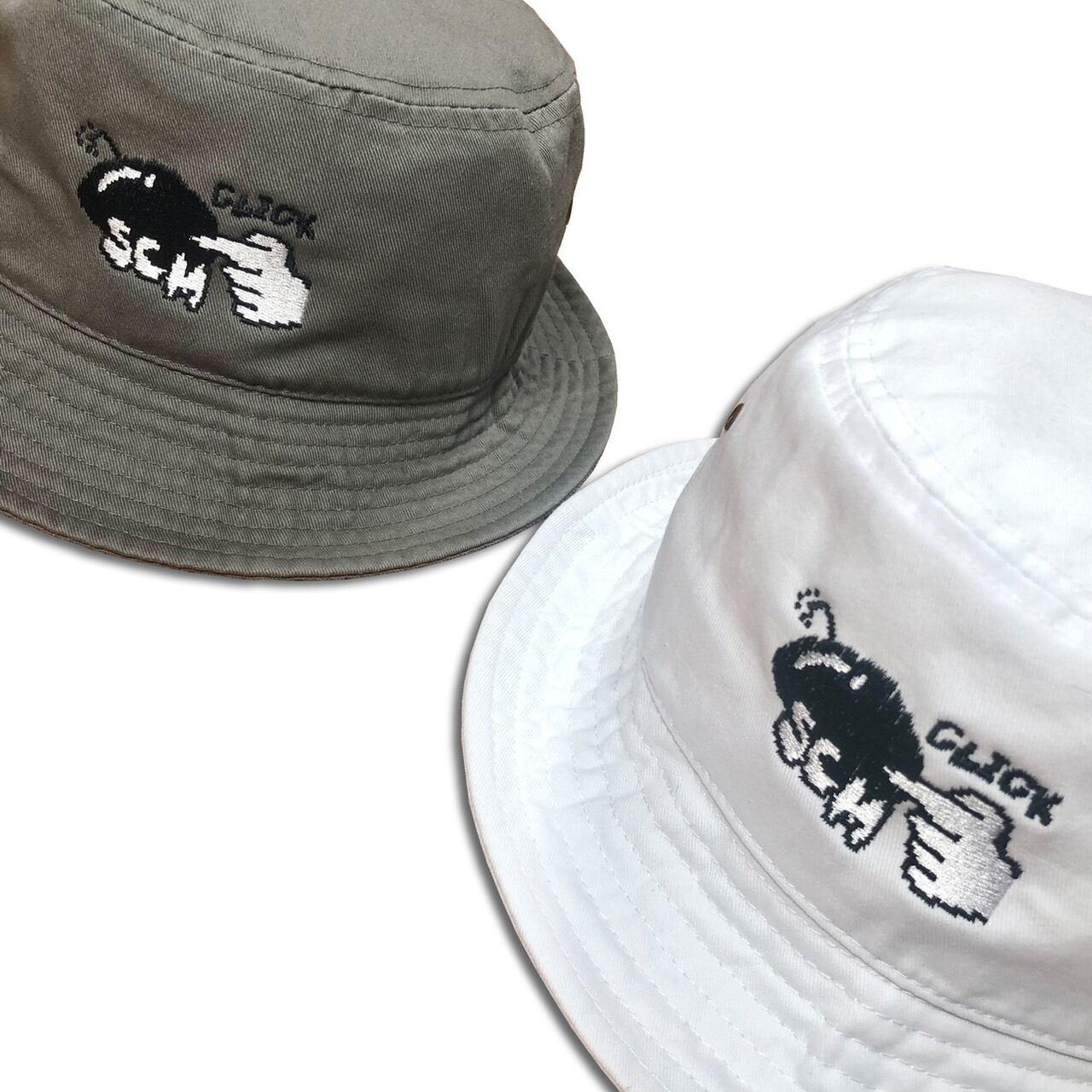 """STASCM """"CLICK"""" BUCKET HAT"""