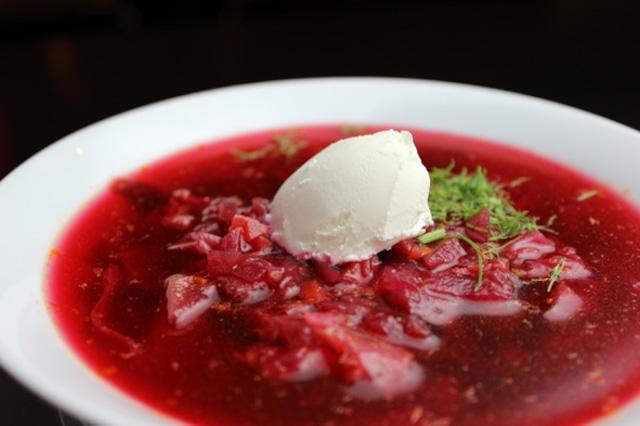 <ロシア人シェフがつくる本格ロシア料理> [通販限定] ハロディニ・ボルシチ (300g×2セット)
