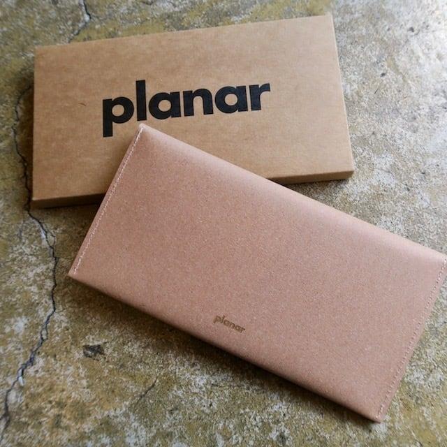 Planar  Long Wallet  -Natural-