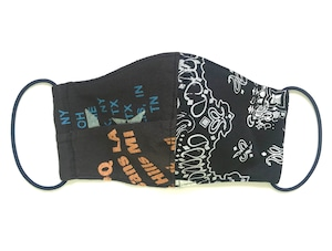 【COTEMER マスク 日本製】BAND PRINT MASK M0425019