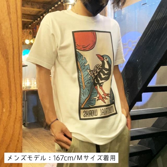 沖縄×花札デザイン Tシャツ
