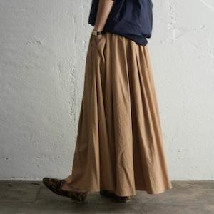 SIWALY nylon gather long skirt