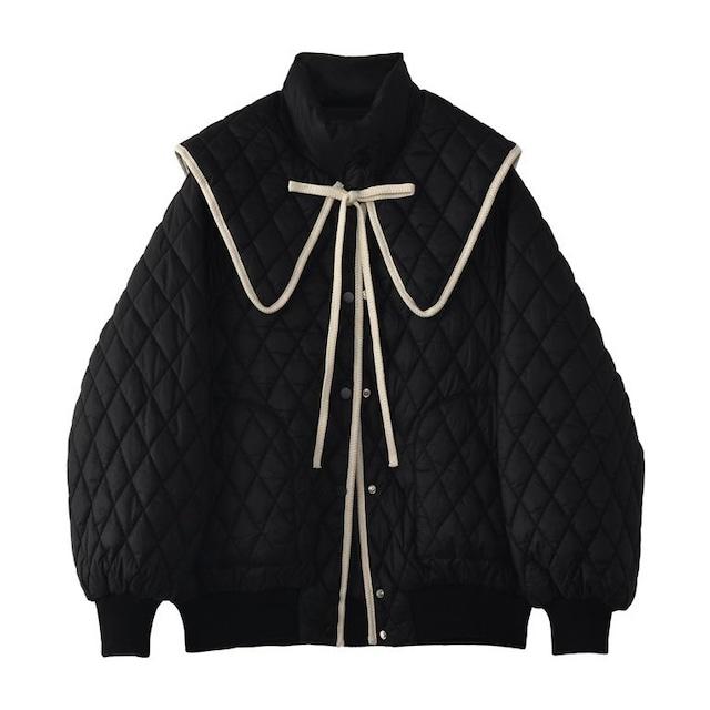 ビッグショールキルティングジャケット(3color) C210905