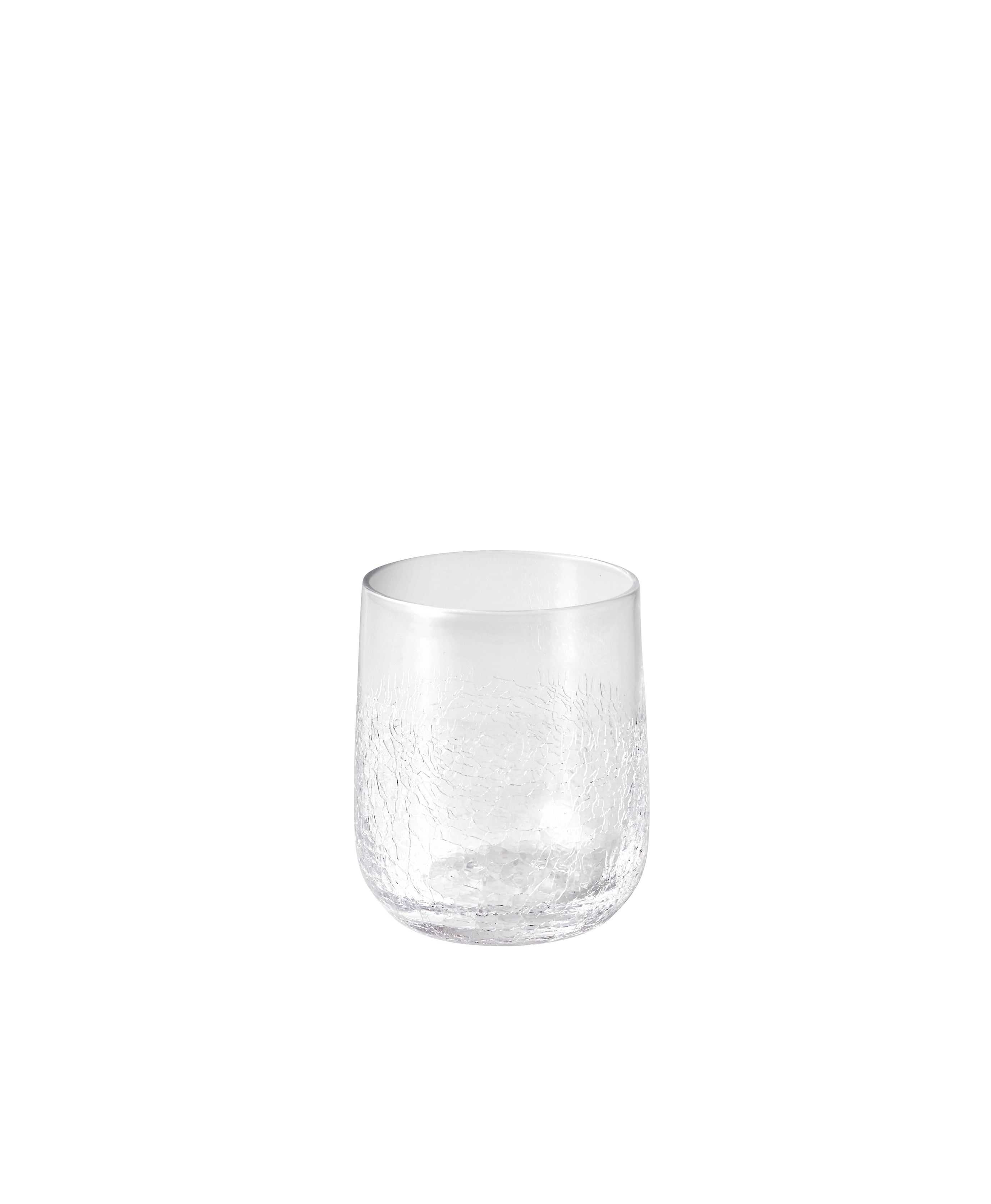 つぼみ酒グラス ヒビ貫入