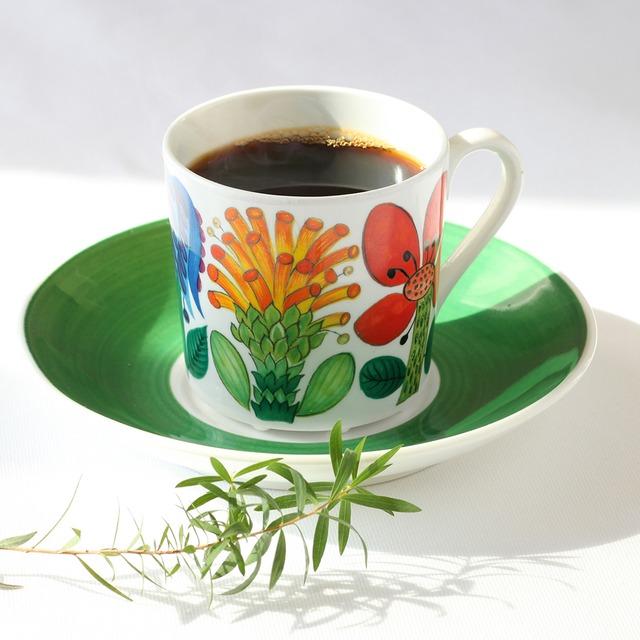 Gustavsberg グスタフスベリ Tahiti タヒチ コーヒーカップ&ソーサー -5 北欧ヴィンテージ