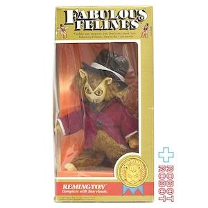 ファビュラスフィーライン レミントン 猫人形 箱入