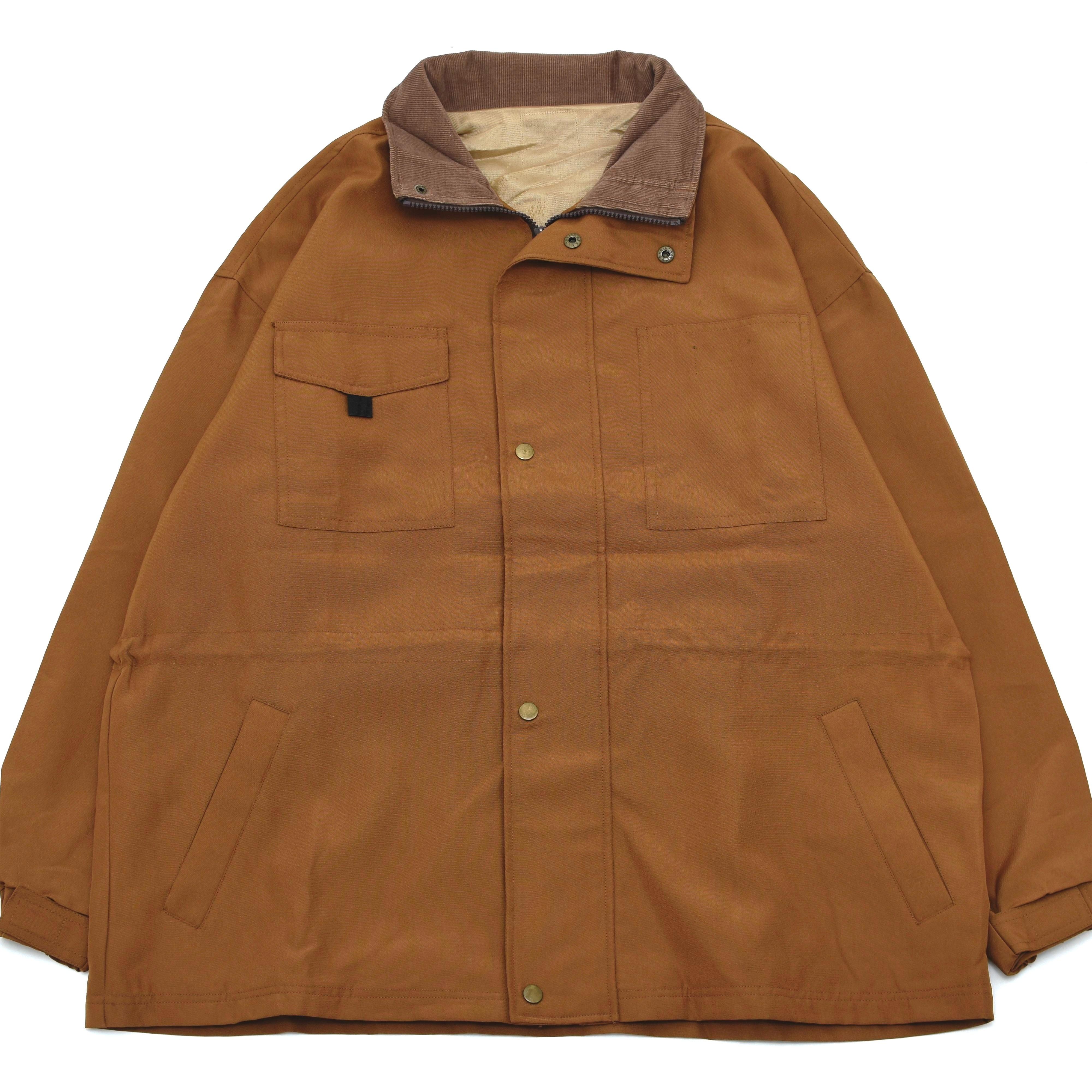 Camel brown color work jacket