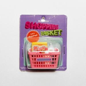 [NEW]買い物かごのブローチ